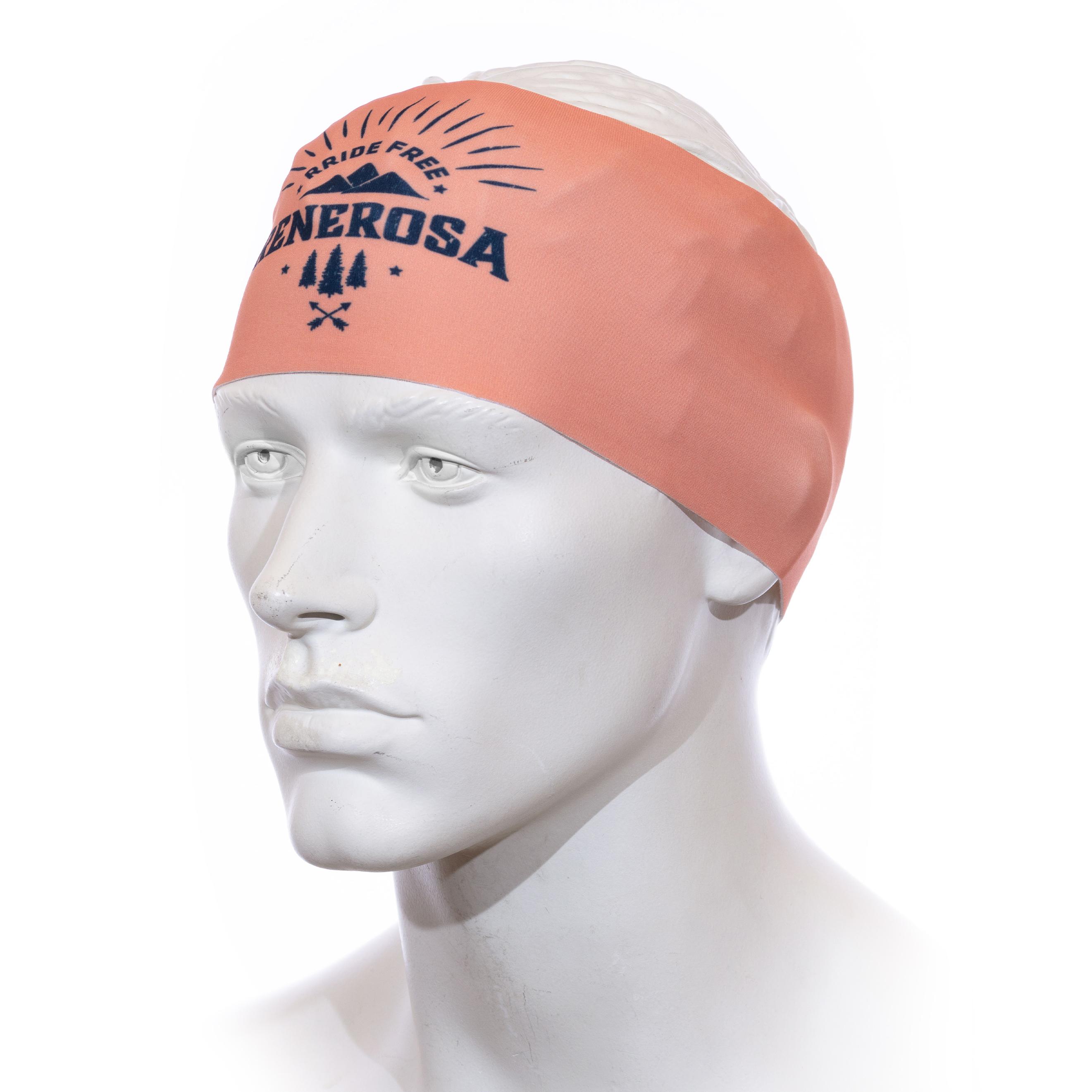 Stirnband Langläufer RRT991U / RRideFree Salmon