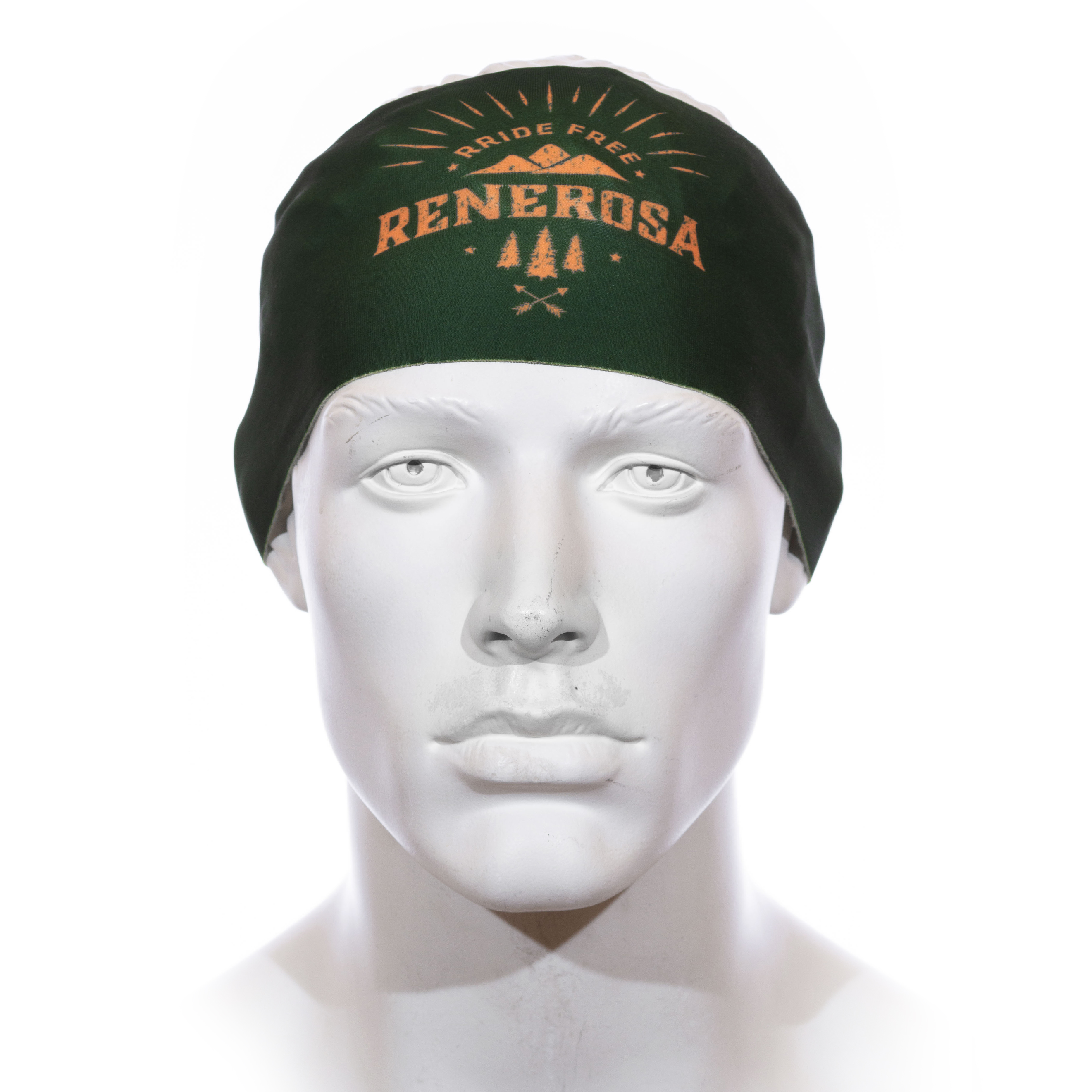 Stirnband Langläufer RRT991U / RRideFree GrünOrange