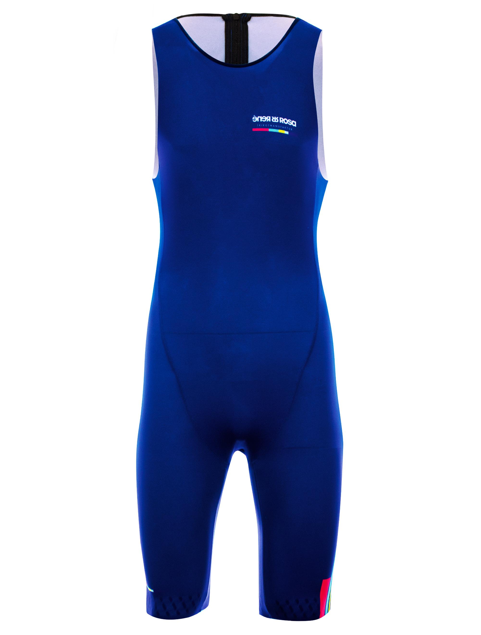 Aero Triathlon Kurzdistanzeinteiler  RRT2780M / RR-Stripes Blau