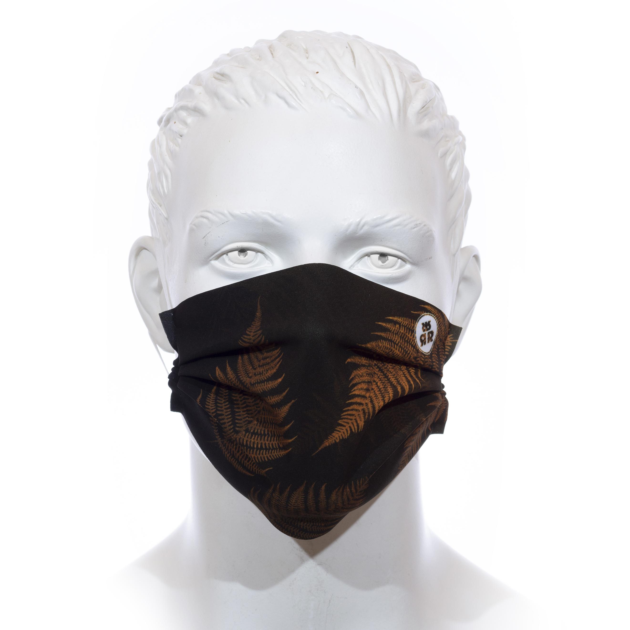 Facemask RRT1700M / RRide Free Leafdesign SenfGelb