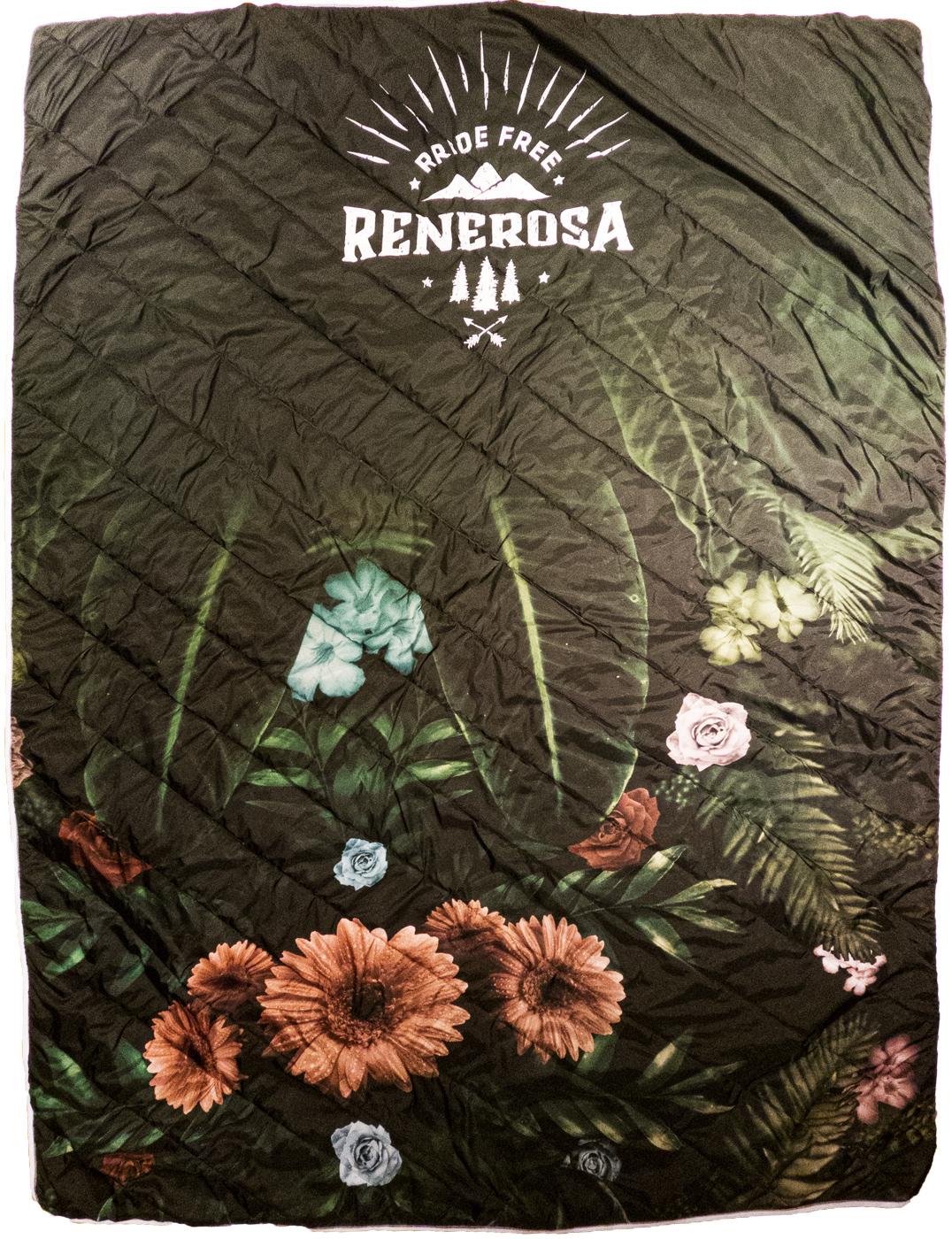 Picknickdecke  RRT1000U / RRideFree Flower Design