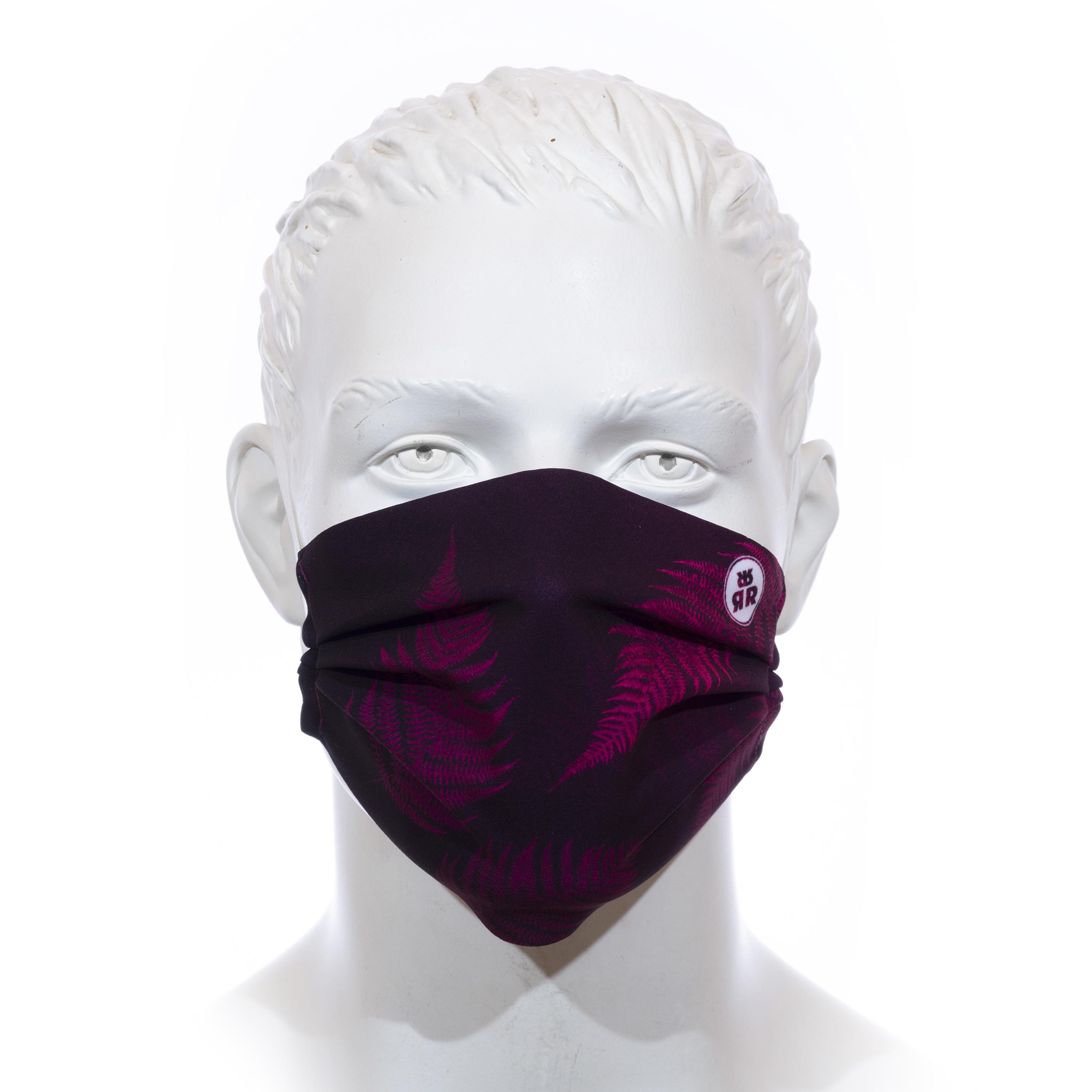 Facemask RRT1700M / RRide Free Leafdesign Pink