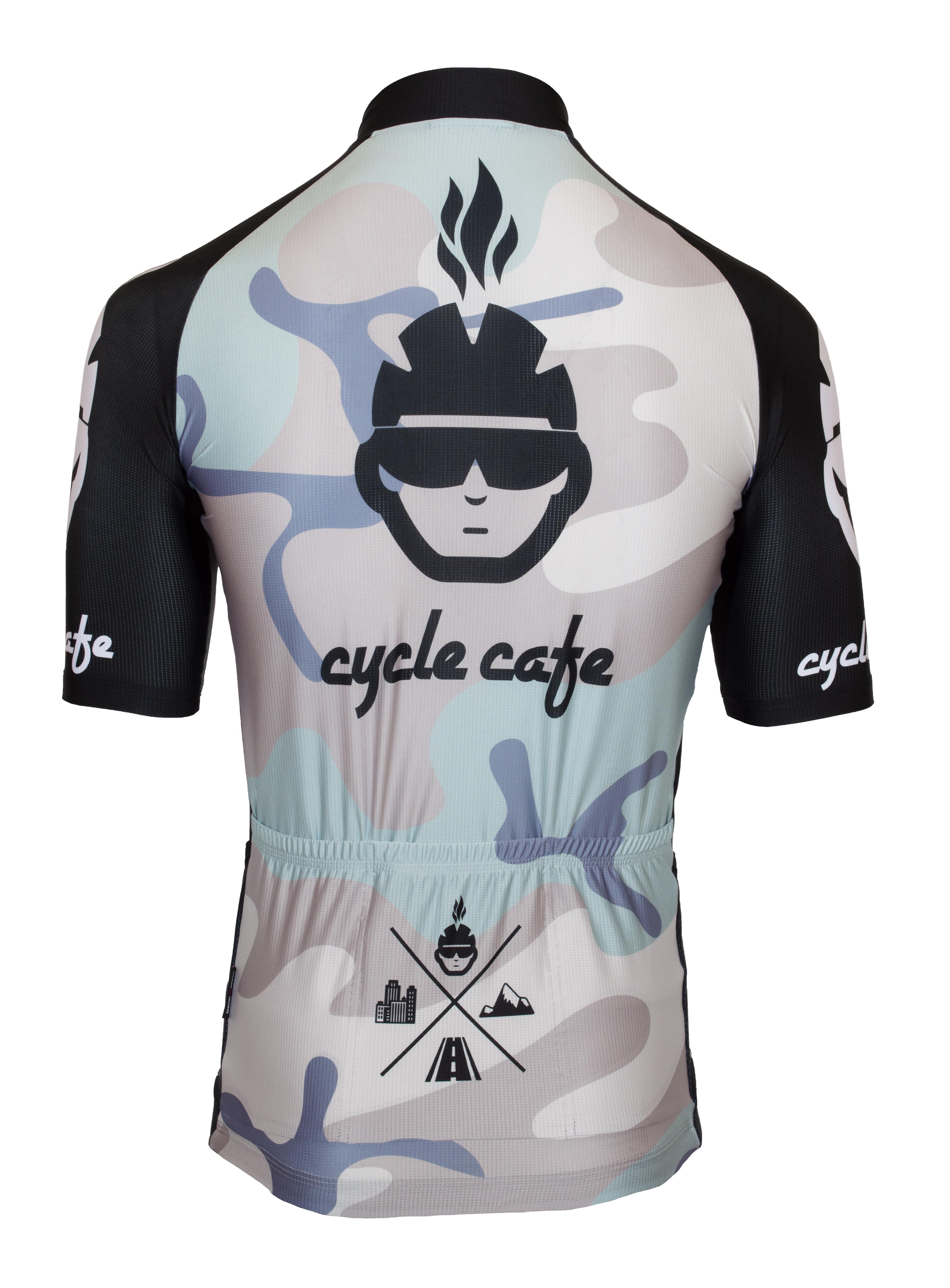 Kurzarm Radtrikot RRT047M / Cycle Cafe Gravel Trikot