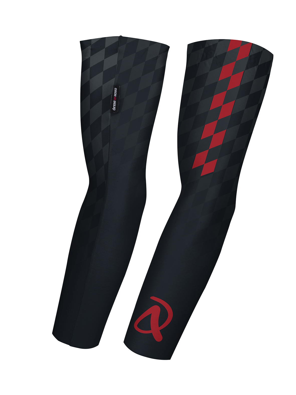Armlinge RRT1940U / schwarz - rot / Andi Dreitz
