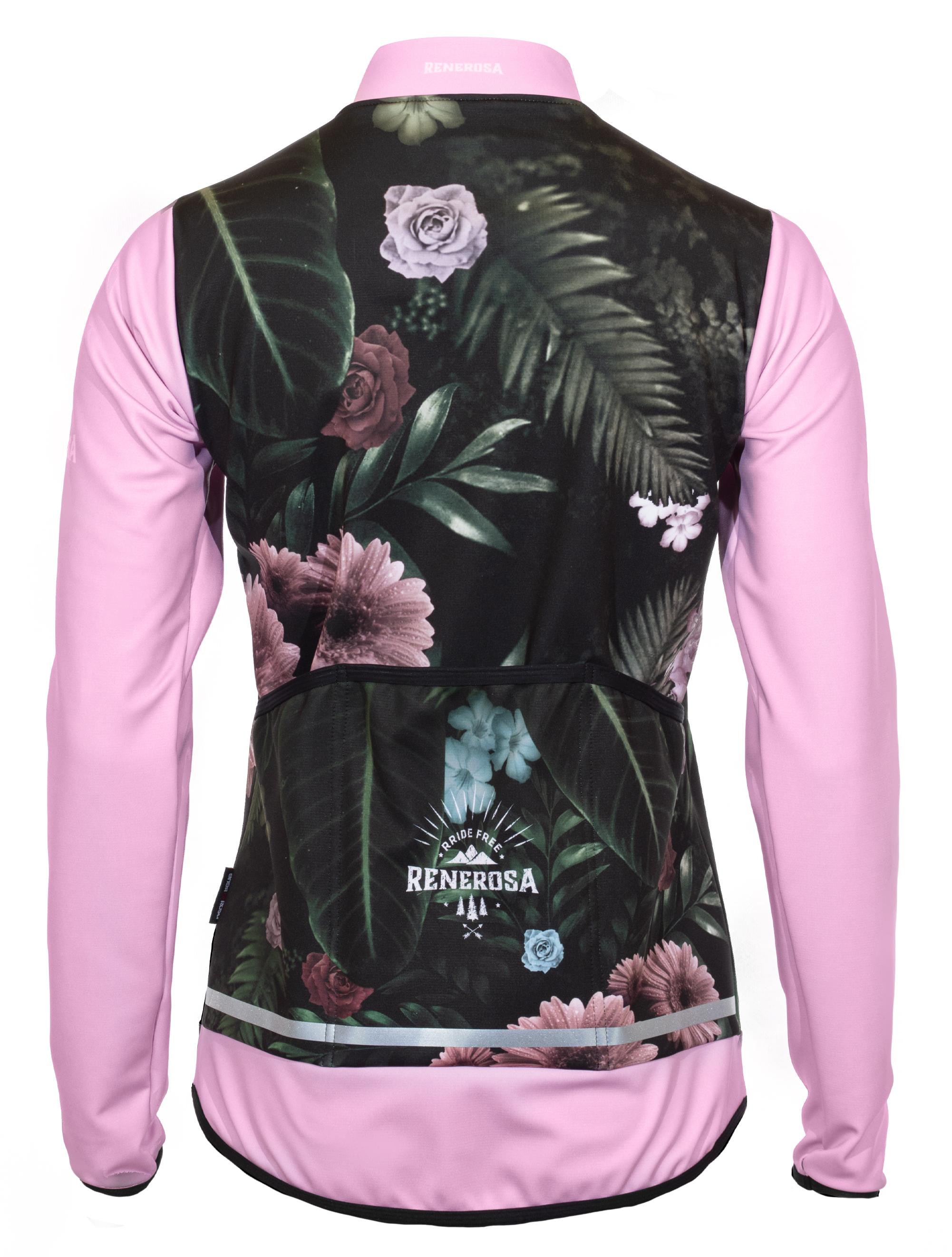 Softshell Jacke RRT2081W / RRide Free Flower Design