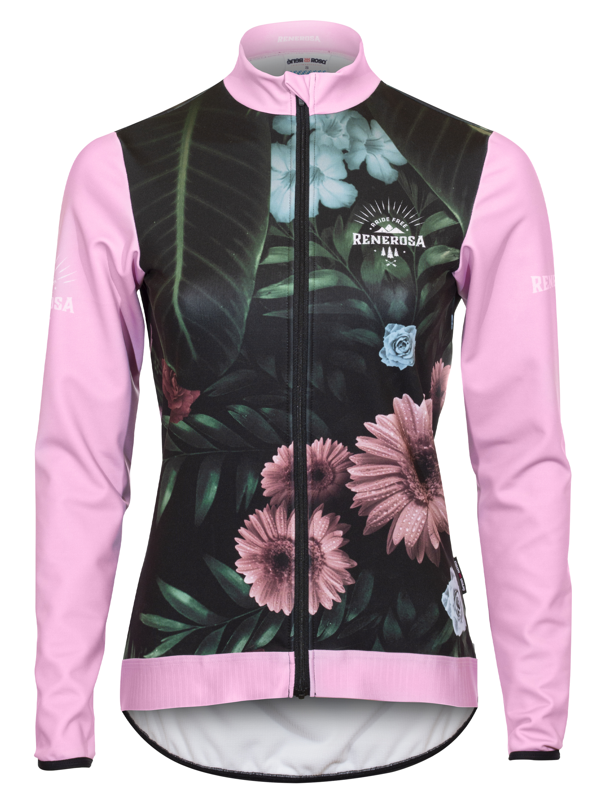 Softshell Jacke RRT2081W / RRide Free Flower Design