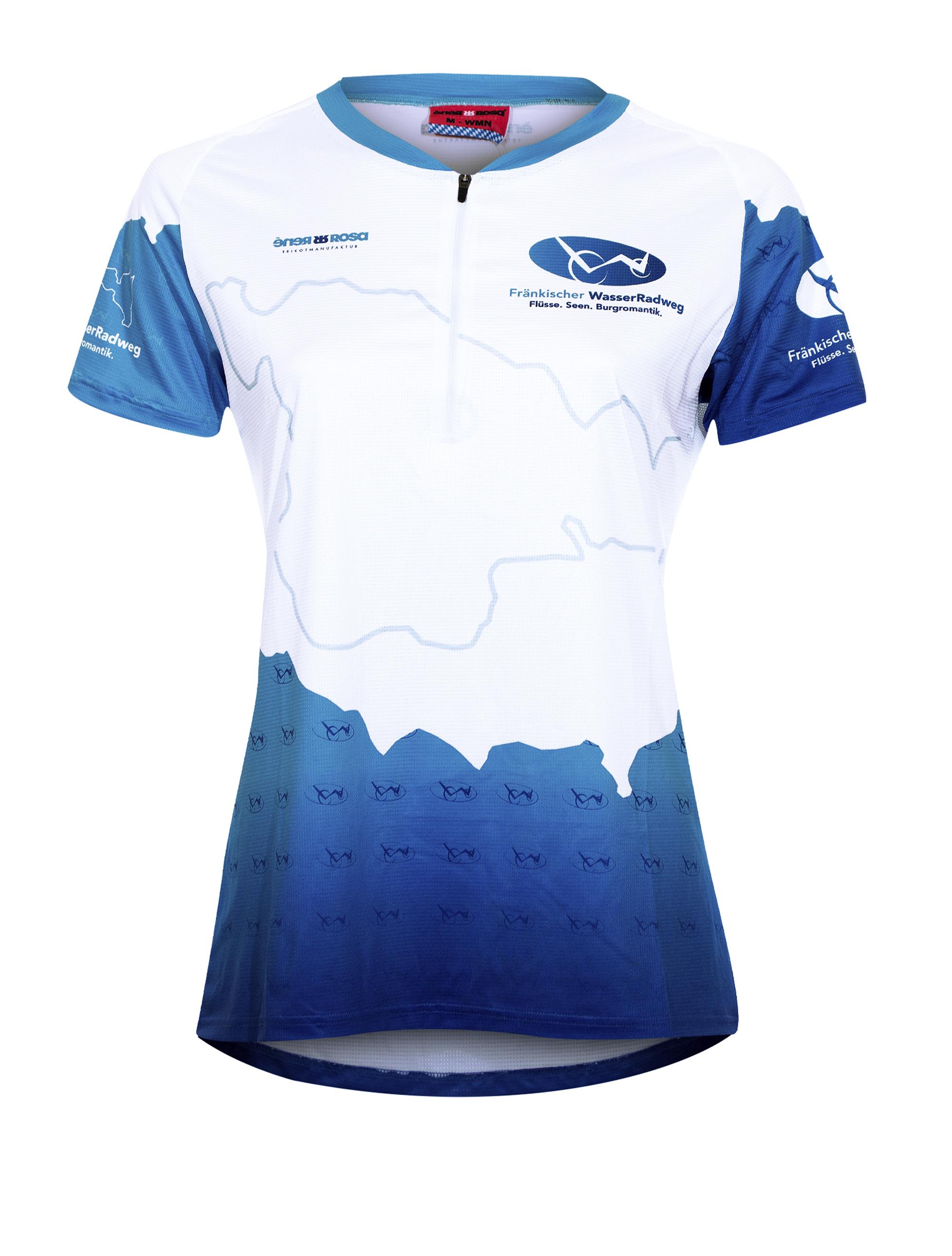 E-Bike Shirt RRT805W Damen / Fränkischer WasserRadweg