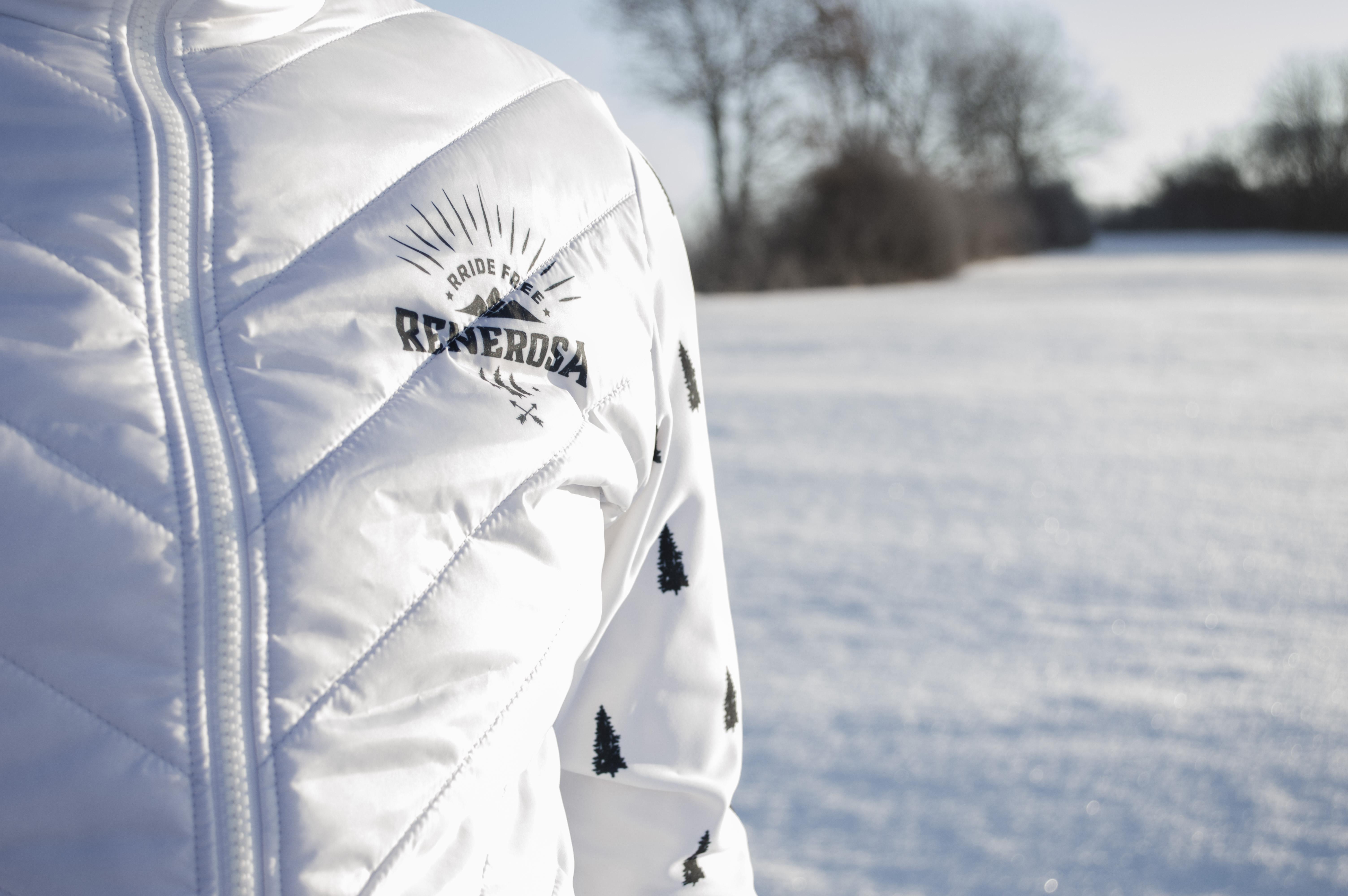 Multisport Steppjacke Ultimate RRT210M / RRide Free White Blue