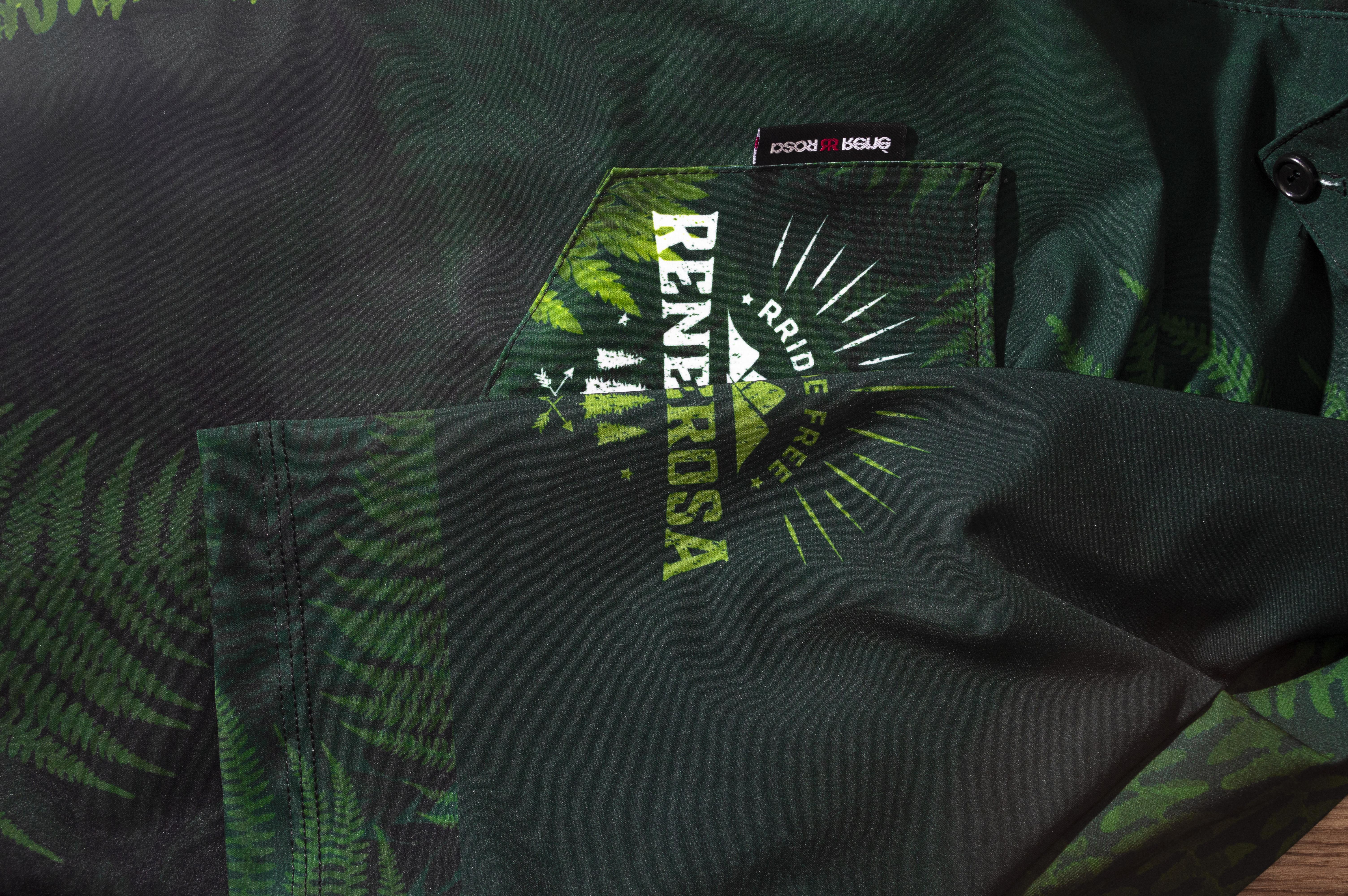 Gravelshirt RRT650M / RRideFree Fern Design
