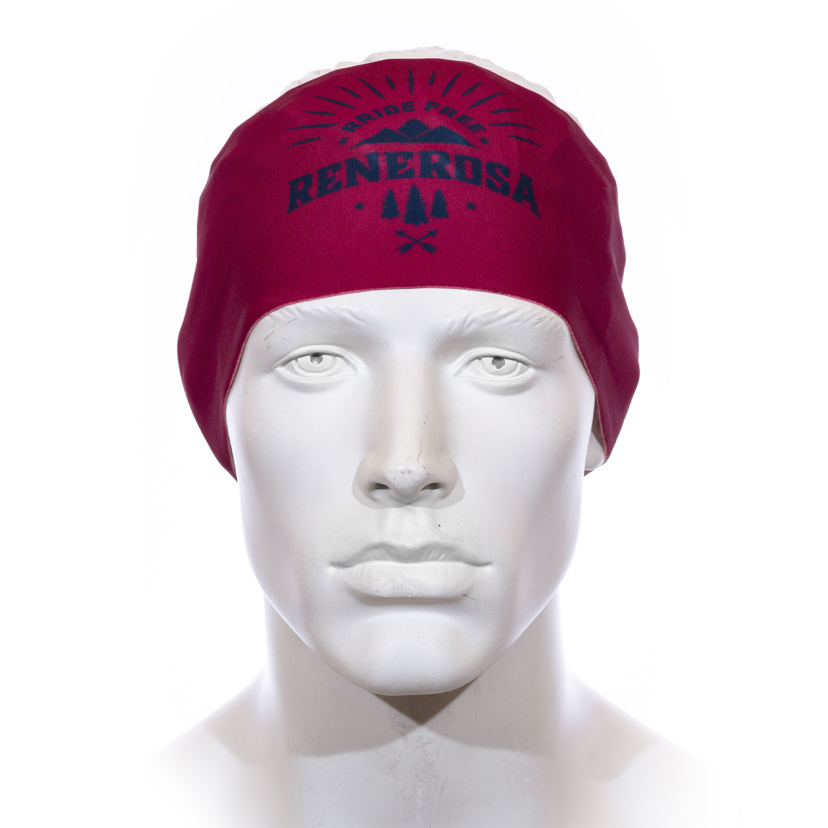 Stirnband Langläufer RRT991U / RRideFree RotBlau