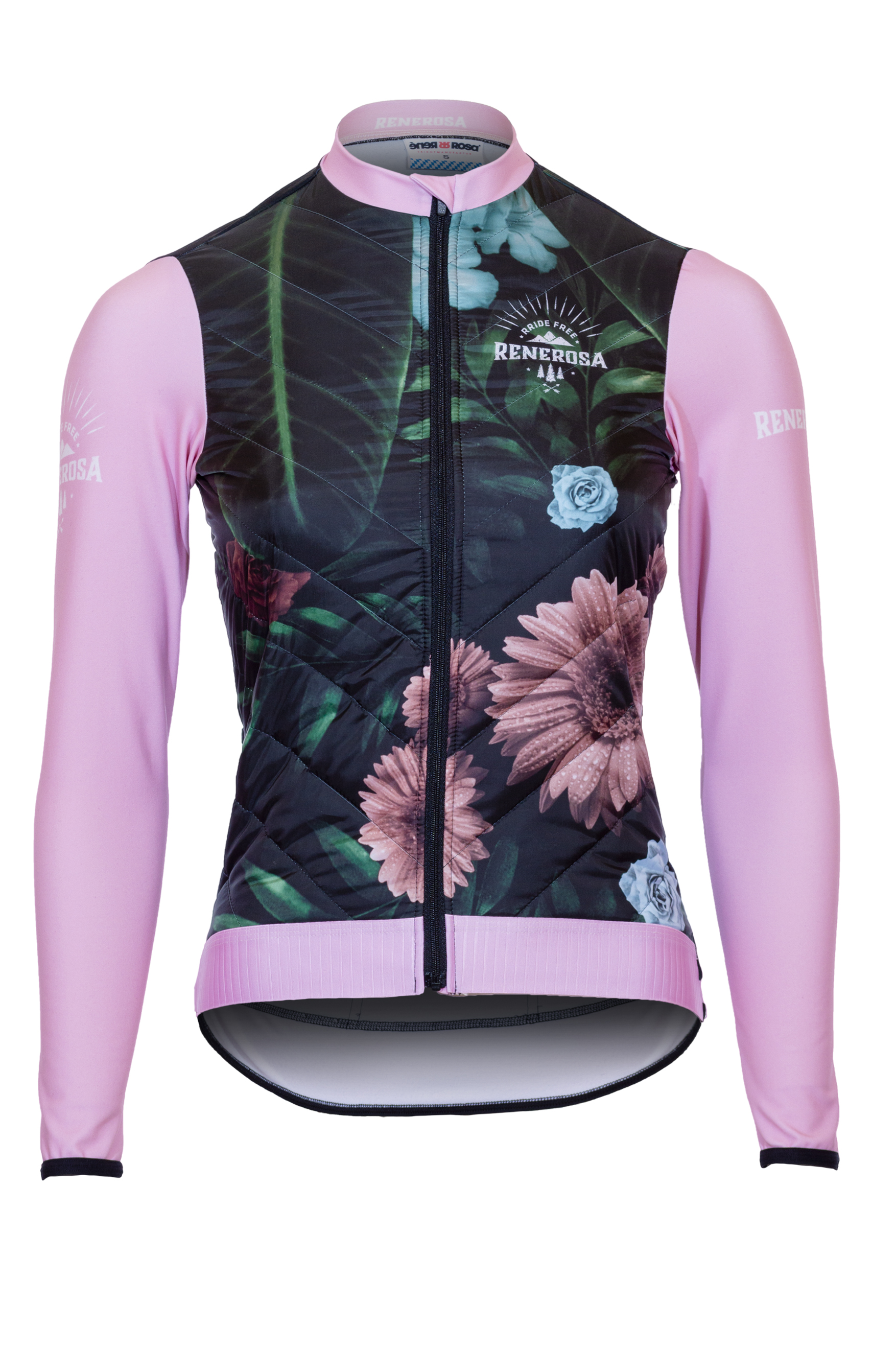 Thermal Jacket RRT2080W /  RRideFree Damen Flower Design