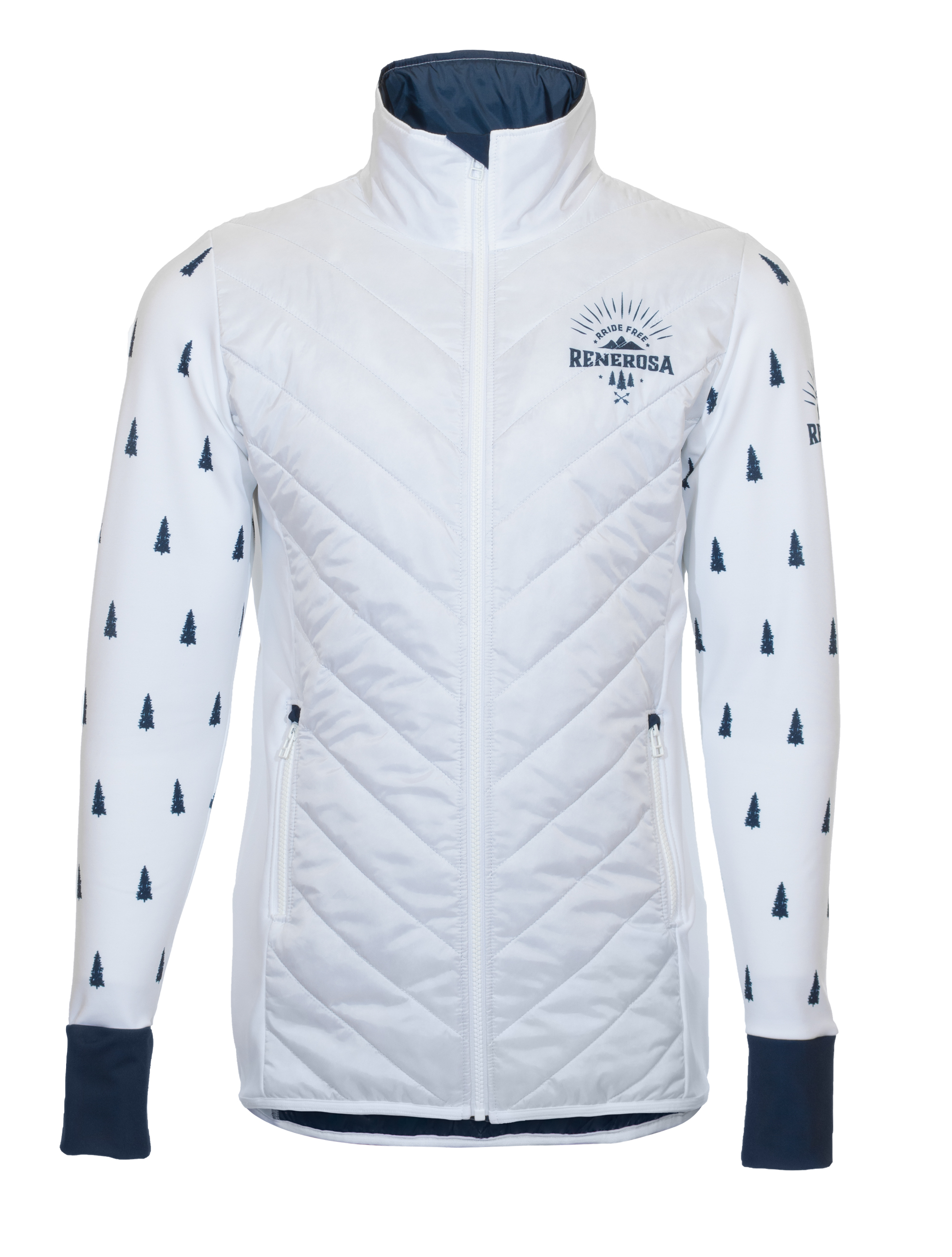 Multisport Steppjacke Ultimate RRT210M / RRide Free White Blue