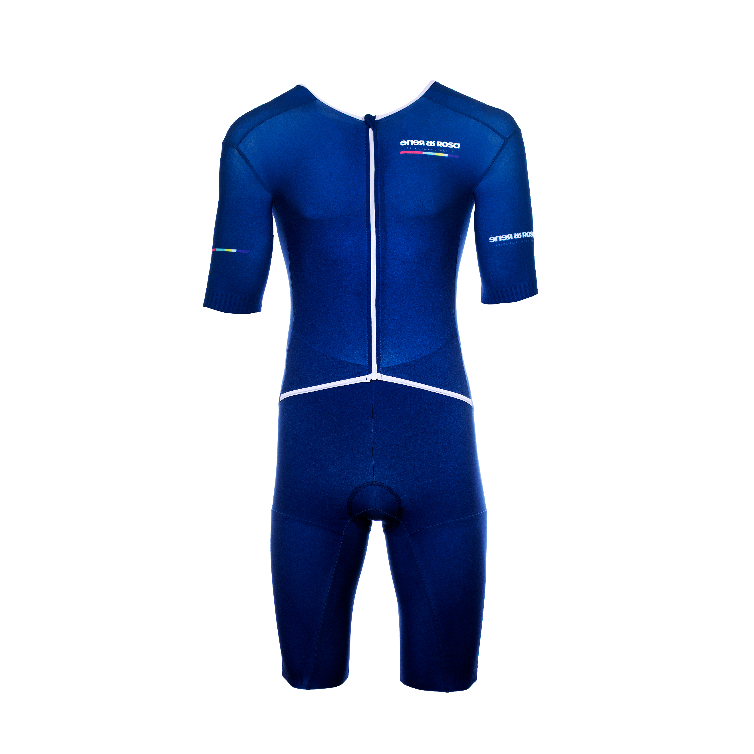 Aero Triathlon Einteiler  RRT2777M Normalversion / RR-Stripes blau