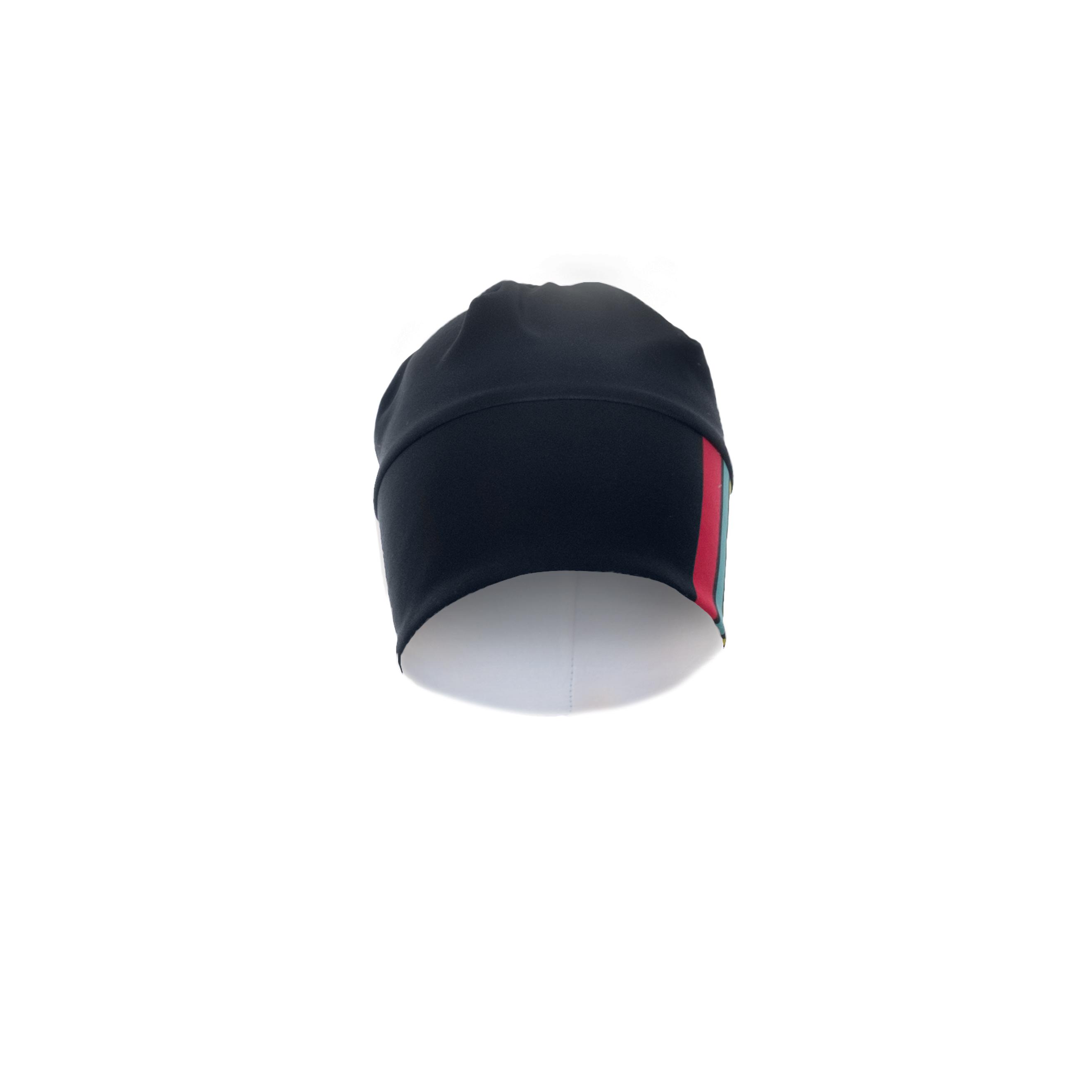 Wintermütze RRT992U / RR-Stripes schwarz