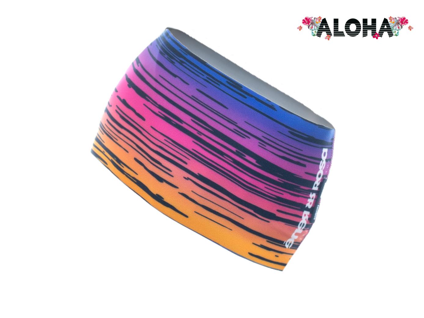 Stirnband Langläufer RRT991U / Aloha Sunset