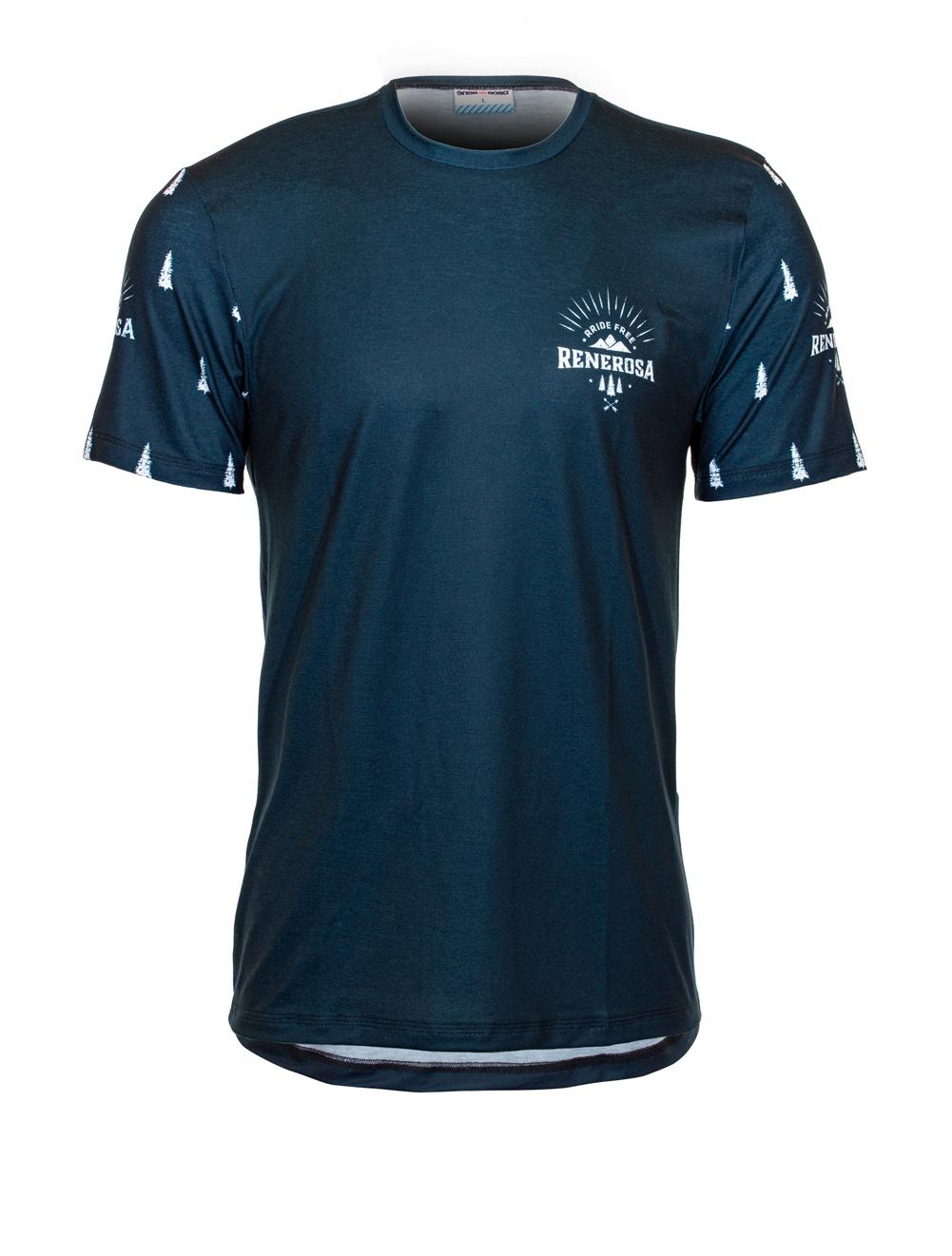 Sport Funktions T-Shirt RRideFree / RRT865M Blue White
